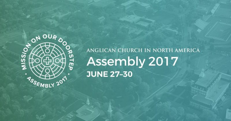 Experience UA at the ACNA Provincial Assembly